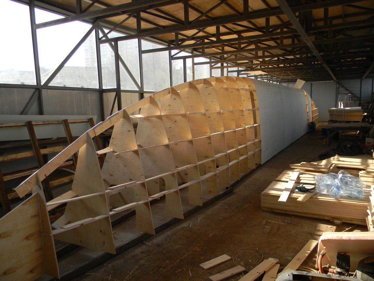 Строительство катамарана
